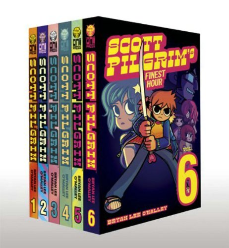 Scott Pilgrim Bundle Volumes 1-6: Bryan Lee O'Malley