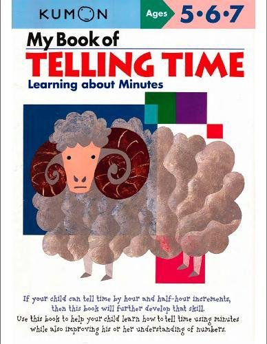 9781934968147: My Book of Telling Time (Kumon Workbooks)