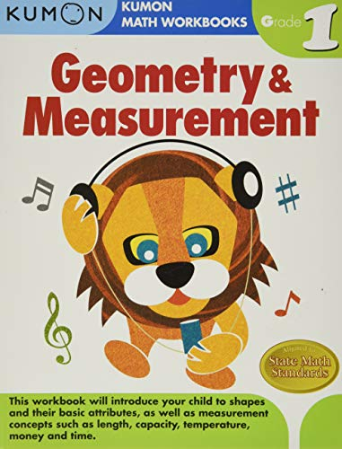 9781934968178: Geometry & Measurement Grade 1 (Kumon Math Workbooks)
