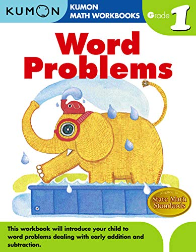 9781934968413: Word Problems Grade 1 (Kumon Math Workbooks)
