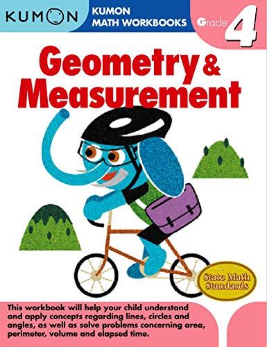 Geometry & Measurement Grade 4 (Kumon Math Workbooks): Kumon Pub. North America Ltd