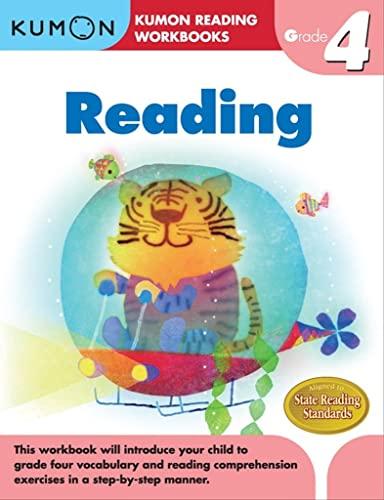 Reading Grade 4 (Paperback): Kumon Publishing (COR)/