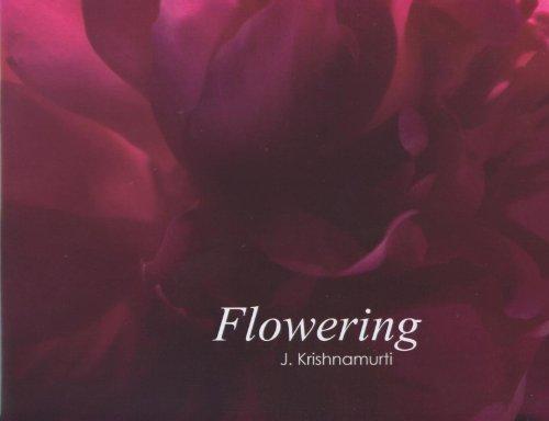 9781934989227: Flowering: J. Krishnamurti
