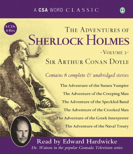 9781934997345: The Adventures of Sherlock Holmes, Volume 2 (A CSA Word Classic)