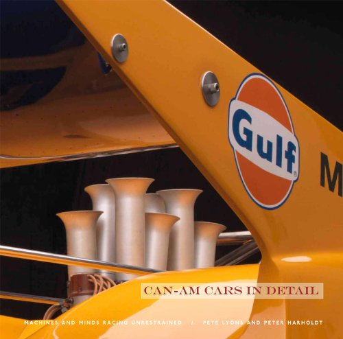 9781935007111: Can-Am Cars in Detail: Machines and Minds Racing Unrestrained