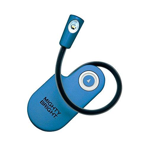 9781935009009: Mighty Bright - Lámpara LED de lectura, color azul
