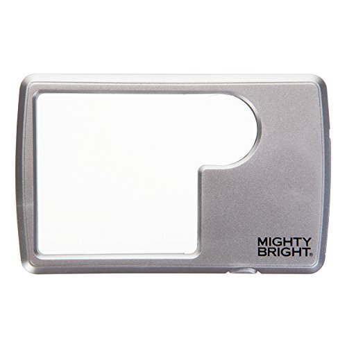 9781935009696: Lighted Wallet Magnifier, Silver