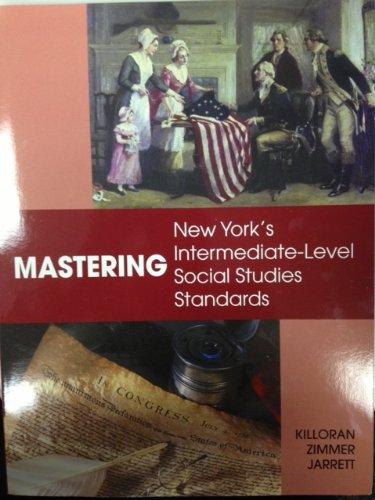 9781935022060: Mastering New York's Intermediate-Level Social Studies Standards