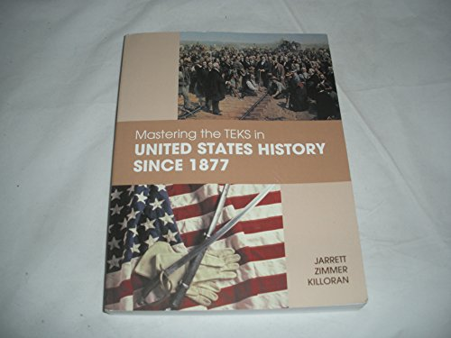 9781935022114: Mastering the TEKS in United States History Since 1877
