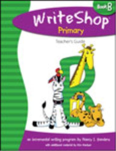 9781935027010: WriteShop Primary Book B Teacher's Guide Grades 1-2