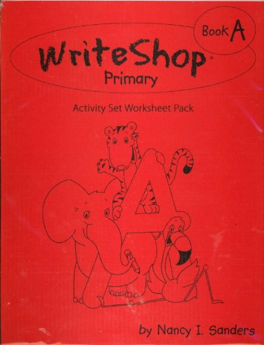 9781935027034: Write Shop Primary Book A -Activity Set Worksheet Pack