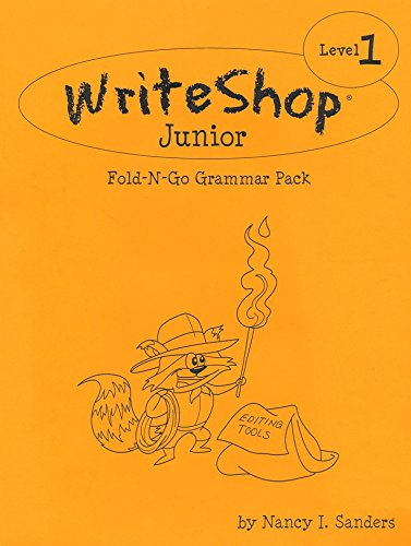 9781935027171: Write Shop Junior Fold-N-Go Grammar Pack Level 1