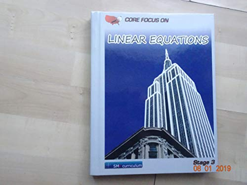 9781935033707: Core Focus on Linear Equations