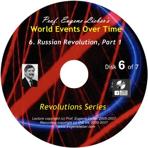 9781935069683: Revolutions Series: Russian Revolution, Parts 1 & 2; World Events Over Time Collection