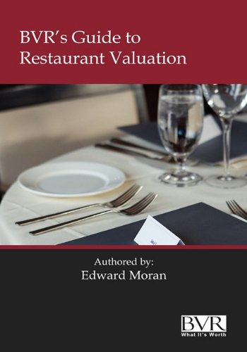 9781935081258: BVR's Guide to Restaurant Valuation