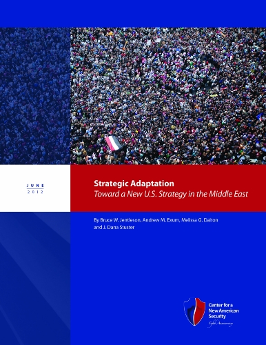 Strategic Adaptation: Toward a New U.S. Strategy: Bruce W. Jentleson,