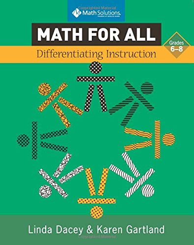 Math for All: Differentiating Instruction, Grade 6-8: Dacey, Linda Schulman;