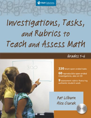 9781935099147: Investigations, Tasks, and Rubrics to Teach and Assess Math, Grades 1-6