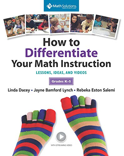 9781935099406: How to Differentiate Your Math Instruction, Grades K-5 Multimedia Resource: Lessons, Ideas, and Videos with Common Core Support, Grades K–5