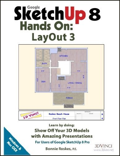 9781935135609: Google SketchUp 8 Hands-On: LayOut 3