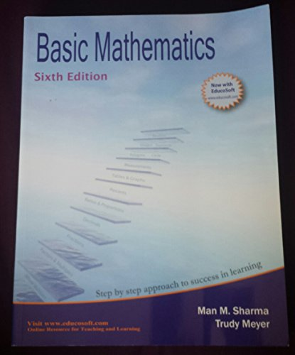 9781935168447: Basic Mathematics, 6th Edition (Step By Step Approach to Success in Learning)