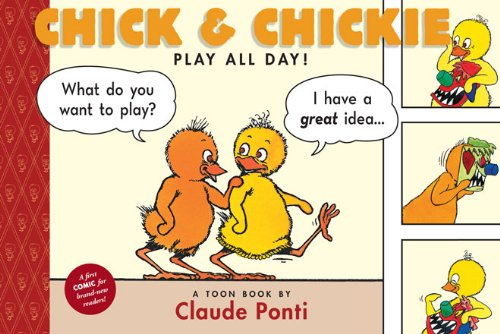 9781935179146: Chick and Chickie Play All Day! (Toon)