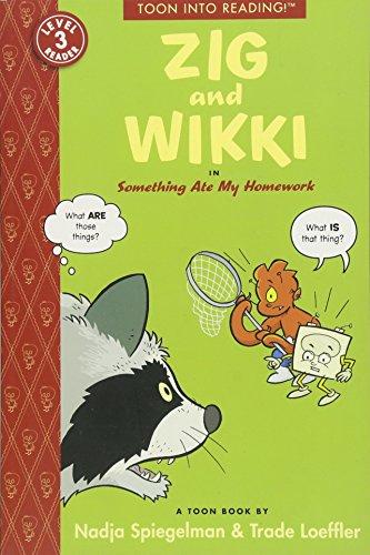 9781935179382: Zig and Wikki: Something Ate My Homework SC (Toon into Reading!, Level 3)