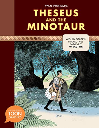 9781935179610: Theseus and the Minotaur (a Toon Graphic) (Toon Graphics)