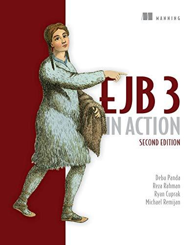 EJB 3 in Action (Paperback): Debu Panda