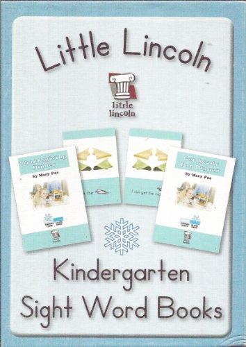 9781935193050: Little Lincoln Kindergarten Sight Word Books Blue Box (Little Lincoln, Winter Box)