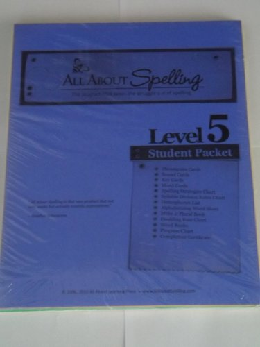 9781935197324: All About Spelling: Level 5, Student Material Packet