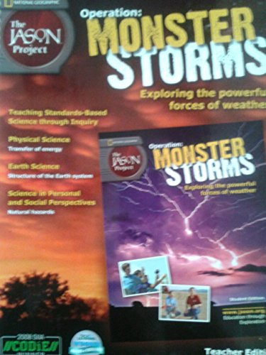 9781935211549: National Geographic Operation: Monster Storms Teacher Edition