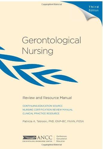 9781935213291: Gerontological Nursing Review and Resource Manual