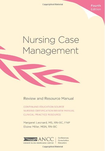 Nursing case management review and resource manual 4th edition.
