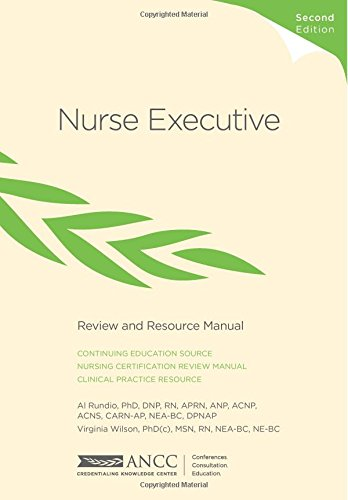 9781935213345: Nurse Executive Review and Resource Manual
