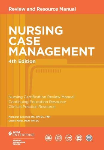 Nursing case management: review and resource manual: 9781935213246.