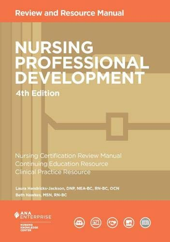 9781935213406: Nursing Professional Development Review Manual, 3rd Edition