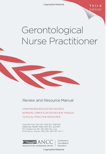 9781935213499: Gerontological Nurse Practitioner Review and Resource Manual, 3rd Edition
