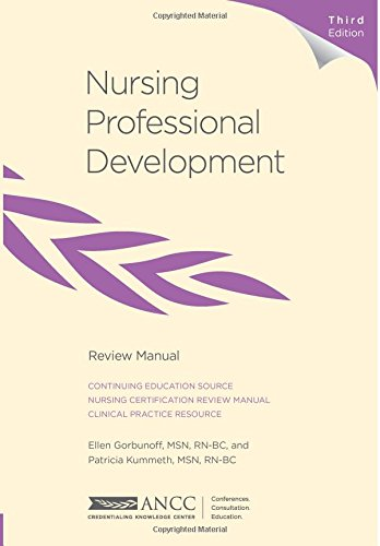 9781935213574: Nursing Professional Development Review Manual, 3rd Edition