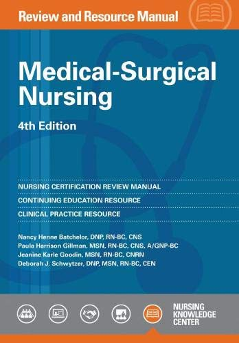 9781935213604: Medical-Surgical Nursing Review and Resource Manual, 4th Edition