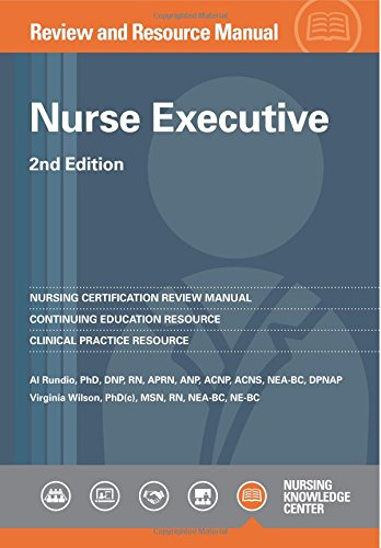 9781935213659: Nurse Executive Review and Resource Manual, 2nd ...