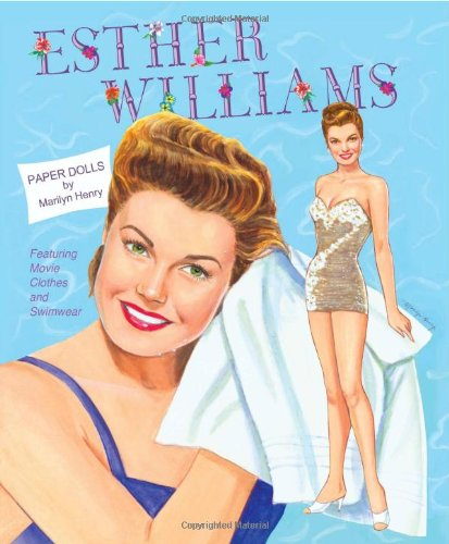 9781935223054: Esther Williams Paper Dolls: Movie Clothes and Swimwear