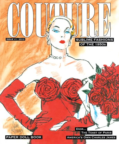 9781935223498: COUTURE: Sublime Fashions of the 1950s Paper Doll Book