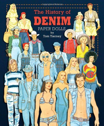 9781935223719: The History of Denim Paper Dolls