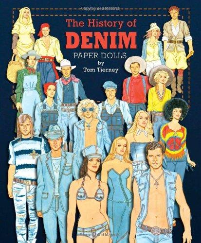 9781935223719: The History of Denim Paper Dolls