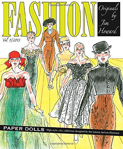 9781935223788: Fashion Originals by Jim Howard Paper Dolls