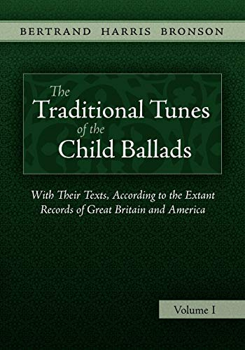 9781935243007: The Traditional Tunes of the Child Ballads, Vol 1