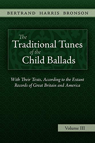 9781935243076: The Traditional Tunes of the Child Ballads, Vol 3