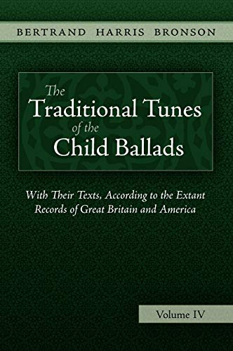 9781935243083: The Traditional Tunes of the Child Ballads, Vol 4