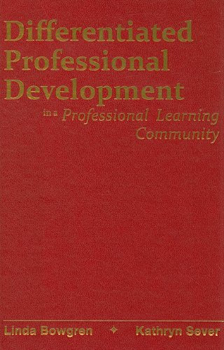 9781935249276: Differentiated Professional Development in a Professional Learning Community